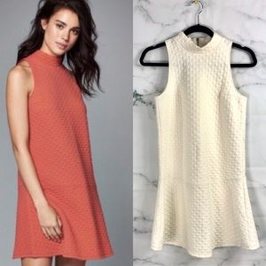 ABERCROMBIE AND FITCH White Drop Waist Dress